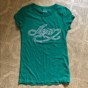 Green aero t with sparkles. NWOT